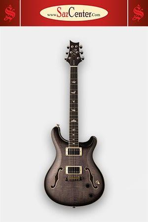 گیتار الکتریک PRS SE Hollowbody II Charcoal Burst