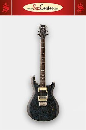 گیتار الکتریک PRS SE Custom 24 Exotic Poplar Burl Whale Blue