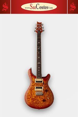 گیتار الکتریک PRS SE Custom 24 Exotic Burled Ash Vintage Sunburst