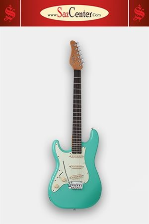 گیتار الکتریک Schecter Nick Johnston Traditional LH Atomic Green