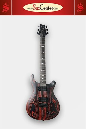گیتار الکتریک PRS SE Custom 22 Ltd Sandblasted Fire Red