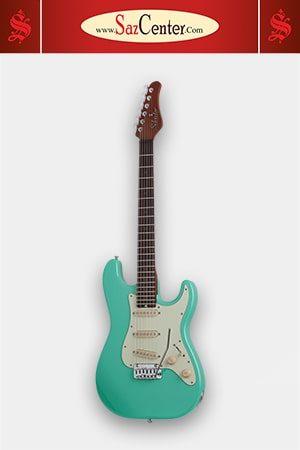 گیتار الکتریک Schecter Nick Johnston Traditional Atomic Green