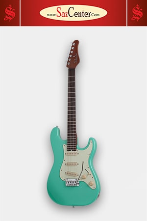 گیتار الکتریک Schecter Nick Johnston Traditional Atomic Green